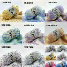 Wholesale! popular colors Super Soft Natural Smooth Bamboo Cotton Knitting Yarn
