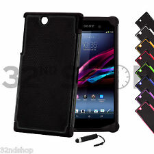 NEW SHOCK PROOF CASE COVER FOR Sony Xperia Z Ultra (XL39H) SCREEN PROTECTOR