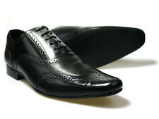 Red Tape Lavant Black Leather Shoes UK size 7 - 11 Free UK P&P RRP £45!