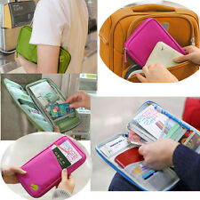 New Travel Journey Passport Credit ID Card Cash Holder Purse Case Cover Wallet