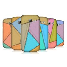 HEAD CASE LEATHER PATCHED UP BACK COVER FOR SAMSUNG GALAXY TREND II DUOS S7572