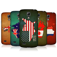 HEAD CASE FLAG MAPS SNAP-ON BACK COVER FOR SAMSUNG GALAXY S4 MINI I9190 I9192