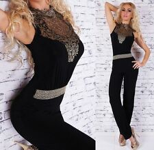 Sexy Lace Overall Catsuit Jumpsuit  - S / M / L