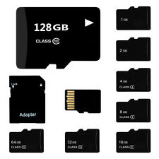 With SD Adapter 2GB 4GB 8GB 16GB 32GB 64GB Micro SD MicroSD SDHC TF Memory Card