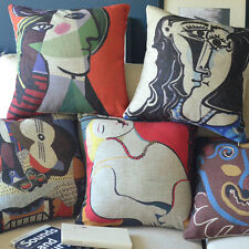 "Throw Pillow Case Decor Cushion Cover Square 18"" Picasso Imaginative Painting"