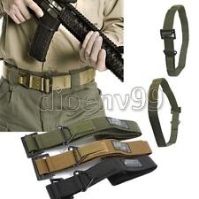 CQB Tactical Army Military Rescue Outdoor Hunt Downhill Rappelling Canvas Belt