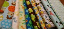 handmade double flannel baby/toddler blankets  gender neutral group 1