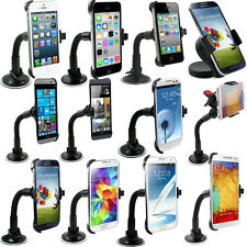 Car Windshield Suction Cup Mount Rotating Stand Holder Cradle For Phones GPS
