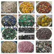 100g GEMSTONE Mini Chips UNDRILLED Embellishments * Garnet Tourmaline & More!!