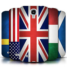 STUFF4 Phone Case/Back Cover for Samsung Galaxy S4/SIV /Flags