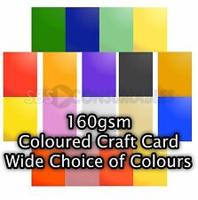 50 Sheets A4 Clairefontaine 160gsm Coloured Card. Crafts, Drawing, Printing etc.