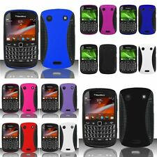 Color Hybrid Hard Dual Layer Skin Case Cover For Blackberry Bold 9900 Bold 9930
