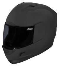 Icon Mens Alliance Dark Full Face Helmet 2013
