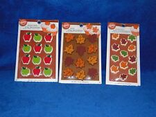 NEW VINTAGE WILTON AUTUMN  VARIETY ICING DECORATIONS, YOU PICK FROM MANY KINDS