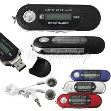 2/4/8GB USB 2.0 Flash Drive LCD MP3 Music Player With FM Radio Voice Recorder