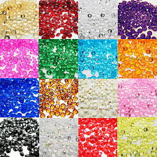 2000 Diamond Table Confetti Scatter Crystal Diamante Party Decoration 4.5 - 10mm