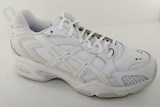 Asics Gel TRX White Leather Mens Shoes S923L-0101 Sizes 7.5 2E, 9 2E, & 9.5M NWD