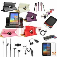 12in1 Accessory Rotating Case Charger For Samsung Galaxy Tab 2 7.0 P3100 P3110