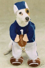 Zack & Zoey FOOTBALL PLAYER  Dog Pet Halloween Costume CLEARANCE