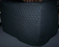 Black (or your color choice) Quilted Fabric Toaster or Convection Oven Cover NEW