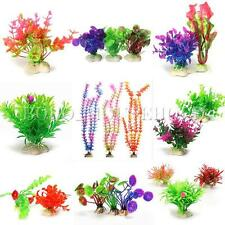 Artificial Aquarium Fish Tank Decor Underwater Plants Grass Ornament Landscape