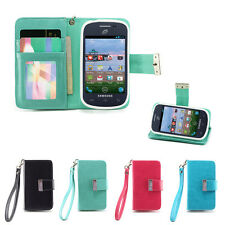 IZENGATE Wallet Flip Case PU Leather Cover for Samsung Galaxy Centura / Discover