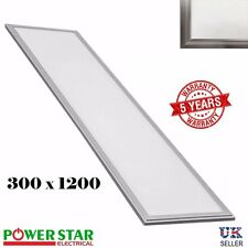 300*1200mm Ultra Thin LED Ceiling Flat Panel Light Downlight Bulb Cool White UK