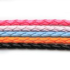 5m Man-made Leather Braid Rope Hemp Cord For Necklace Bracelet 4/6/8mm for Pick