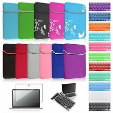 "Sleeve Case Cover Film Keyboard Skin Bundle For Macbook Air 13"" Pro 13.3"" Retina"