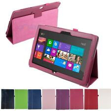New Folio PU Leather Stand Case Cover for Microsoft Windows Surface RT 10.6""