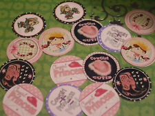 Pre Cut One Inch images COWGIRL PRINCESS Free Shipping IN US