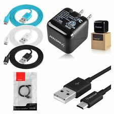 INSTEN 2A USB Home AC Wall Charger+Data Sync Charger Cable Cord for Cell Phone