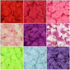 100pcs Decorative Simulation Rose Petals Flower For Wedding Party Decoration