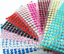Self Adhesive Stick Gems Diamante Rhinestones Sparkle Strip Crystal Craft Card