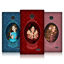 HEAD CASE FAIRY TALE PRINCESSES SNAP-ON BACK COVER FOR NOKIA X