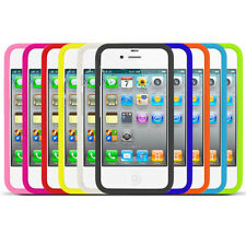 10 IN 1 PACK MULTI COLOUR PLAIN SILICONE CASE GEL COVER FOR VARIOUS MODELS PHONE