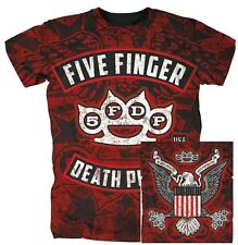 FIVE FINGER DEATH PUNCH - Eagle Burst Allover T-Shirt Größe / size S M L XL XXL