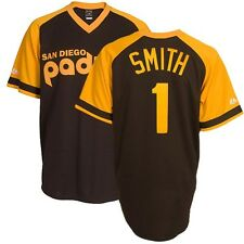 Ozzie Smith 1978 San Diego Padres Cooperstown Brown Road Jersey Men's (S-2XL)