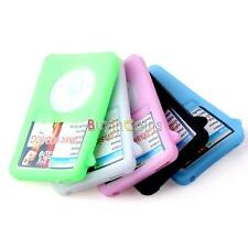 Soft Silicone Cover Case For iPod Classic 80GB Colorful HF