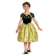 Disney Frozen Anna Coronation Gown Classic Child Toddler Girls Costume Dress