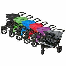 Out n About Nipper Double 360 V4 -  NEW 2015 - Free Raincover and Basket