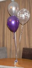 21st Birthday Balloons - 10 Table Decorations - Many Colours - DIY Kit