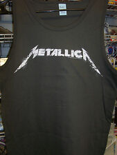 METALLICA LOGO TANK TOP SHIRT NEW !