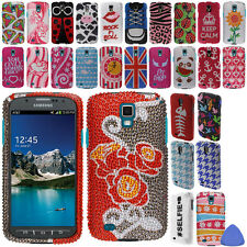 Hard Protector BLING Case Cover For Samsung Galaxy S4 S 4 Active Phone + Tool
