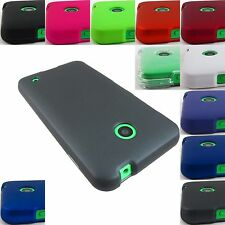 FOR NOKIA LUMIA 520/521/630/635 HARD TWO PART SNAP-ON CASE COVER+STYLUS/PEN