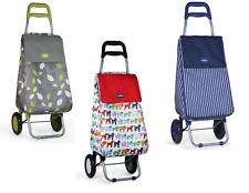 Sabichi Living Light Weight Shopping Trolleys 5 Designs