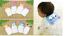 Cute Baby Sweat Cartoon Back absorb Perspiration Wipes Cloth Absorbent