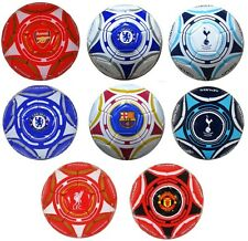 OFFICAL FOOTBALL CLUB - QUALITY SIZE 5 TEAM CREST HEX BALL SOUVENIR GIFT XMAS