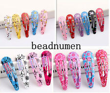 12pcs Fashion Girls' Hair clips