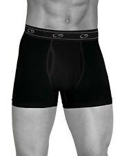 NEW Champion C9 Duo Dry Boxer Briefs 4 Pack BLACK Men's Underwear S M L